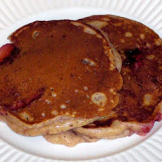 Strawberry Buttermilk Pancakes