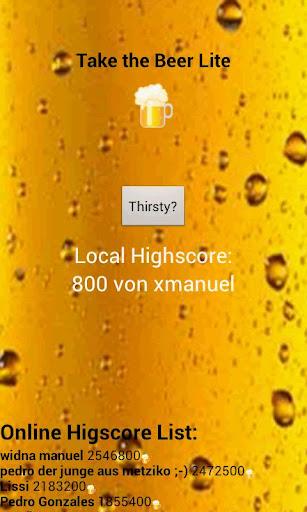 【免費休閒App】Take the Beer Lite-APP點子