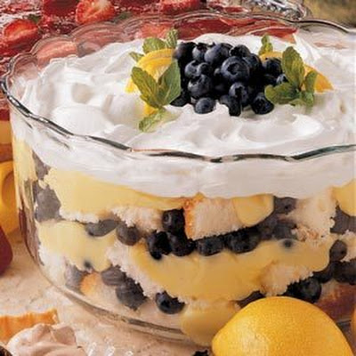 Blueberry Lemon Trifle