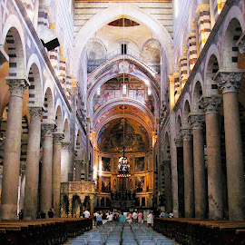 Pisa Duomo inside by Ljiljana Pejcic - Buildings & Architecture Other Interior