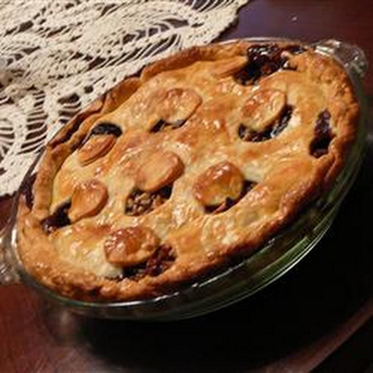 Meatless Mincemeat Pie