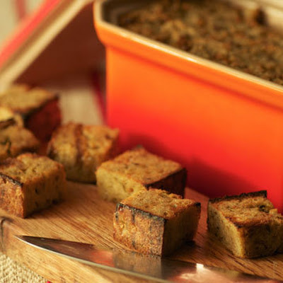 Rye Bread Pudding Croutons with Diane Mina