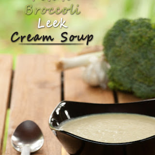 Potato Broccoli Leek Cream Soup