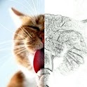 Effet photo Crayon Croquis icon