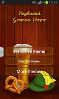 Screenshot of Keyboard German Theme