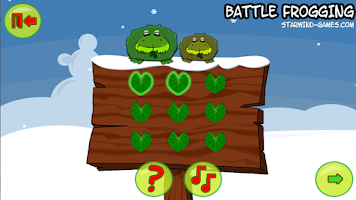 Screenshot of Battle Frogging