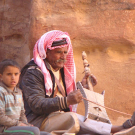 Petra: Jordan by Anuraag Wadhwa - People Musicians & Entertainers