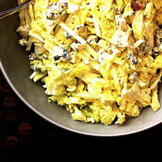 Cabbage Salad with Apples and Walnuts