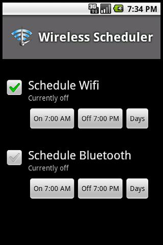 Wireless Scheduler Lite