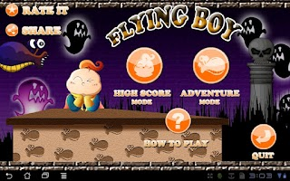 Screenshot of Flying Boy Free