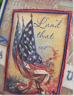 Vintage Americana Closeup