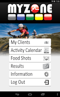 Screenshot of MYZONE Lite