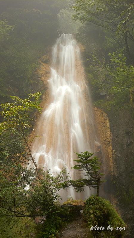 本沢の滝1