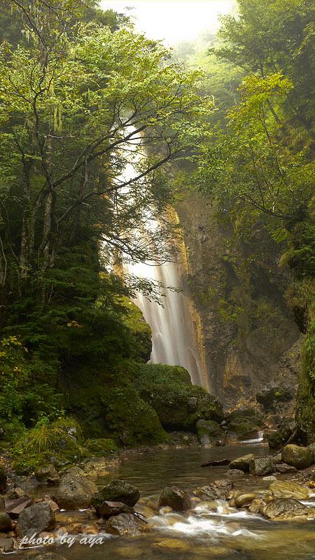 本沢の滝2