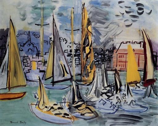 SailBoatsInThePortOfDeauville_1935_NC