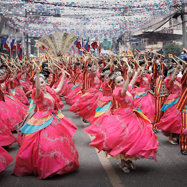 Sinulog Festival, Cebu Philippines by Dennis Sebios - People Musicians & Entertainers