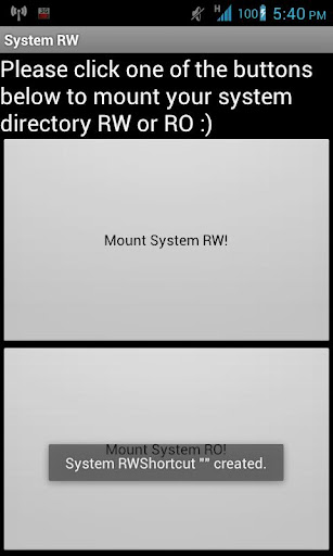 System RW RO Donate