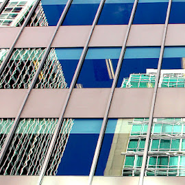 Windows Beget Windows by Ronnie Caplan - Buildings & Architecture Office Buildings & Hotels ( facades, sky, patterns, office buildings, reflections, lines, windows,  )