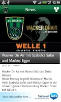 Screenshot of FC Wacker Innsbruck