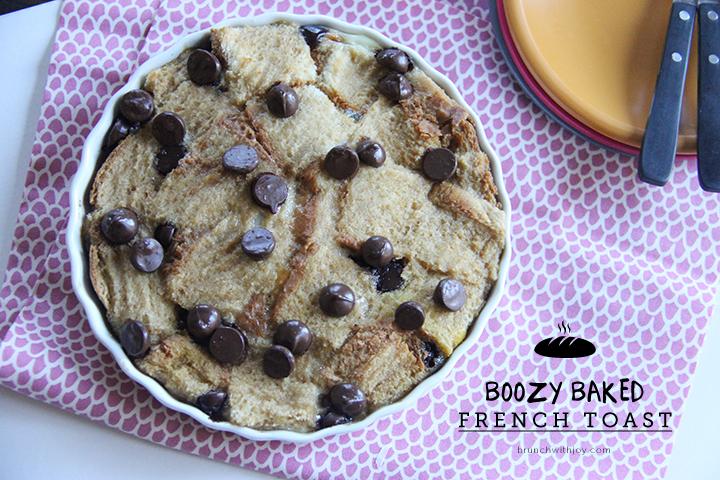 Boozy Baked French Toast #SundaySupper Recipe | Yummly