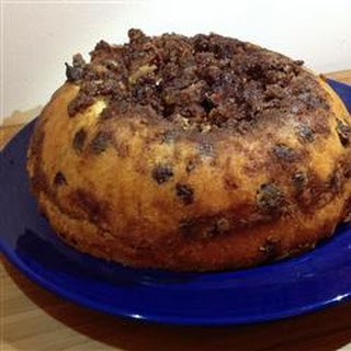 Chocolate Chip Sour Cream Coffee Cake