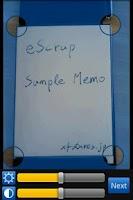 Screenshot of eScrap Free