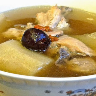 Chinese White Radish Soup