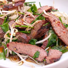 Thai-Style Marinated Flank Steak and Herb Salad