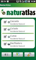 Screenshot of Atlas de Naturaleza