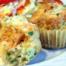 Salmon and Chive Muffins