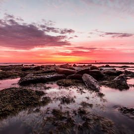 Calm by Mel Stratton - Landscapes Waterscapes ( water, calm, waterscape, beach, seascape )