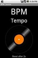 Screenshot of BPM Counter