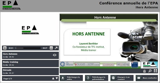 Conférence 3 : Hors Antenne