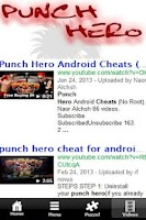 Screenshot of Punch Hero - Tip & Cheats 2013