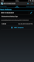 Screenshot of Nandroid Manager Pro