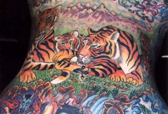 Tattoo Pictures Of Tigers