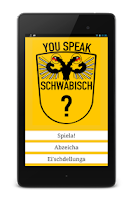 Screenshot of You Speak Schwäbisch?