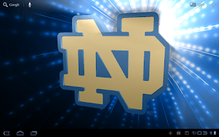 Screenshot of Notre Dame Irish Pix & Tone