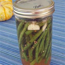 Cold-Pickled Green Beans