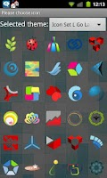 Screenshot of Icon Set L Go Launcher EX