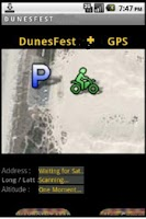 Screenshot of DuneFest