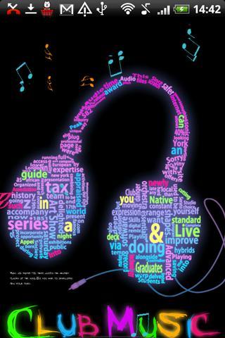 Live Wallpaper Neon Music