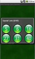 Screenshot of Milli Piyango Şans Oyunları