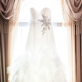Say Yes To The Dress by Aaron Lockhart - Wedding Getting Ready ( life like photo, dress, aaron lockhart, wedding, wedding dress )