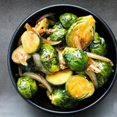 Hoisin Glazed Brussels Sprouts