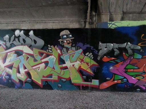 Fresque Sous Le Pont