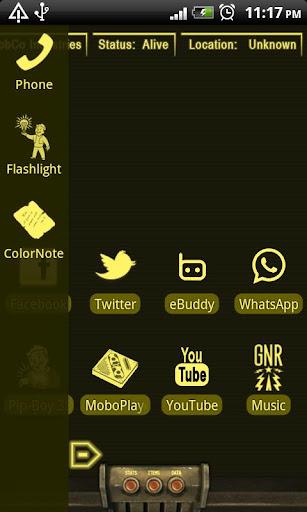 免費個人化App|PipBoy 3000 Amber Karma Edt|阿達玩APP