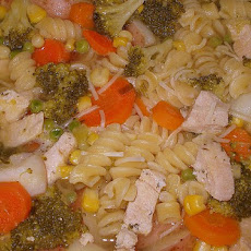 Chicken Vegetable Pasta Soup
