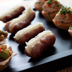 Mini Bangers And Mash Canapés