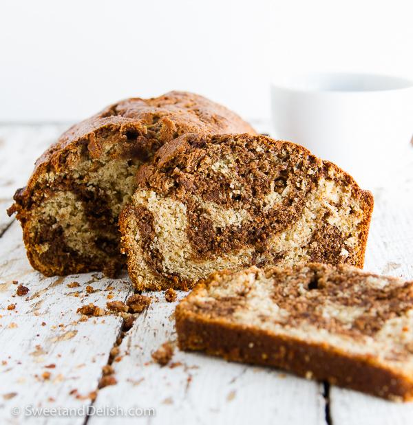 Marbled Chocolate Banana Bread Recipe | Yummly